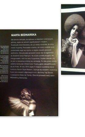 Marta Bednarska w albumie magazynu Estetica