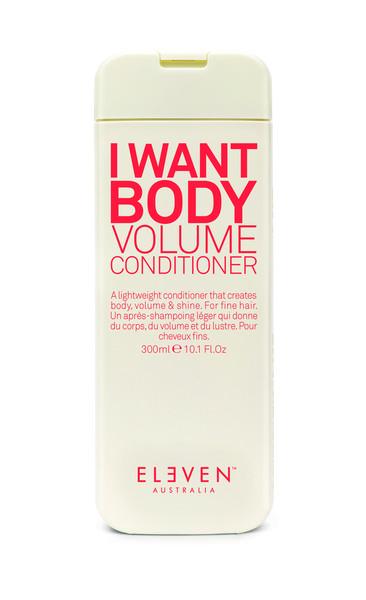 I WANT BODY VOLUME CONDITIONER - Odżywka dodająca objętości 300 ml